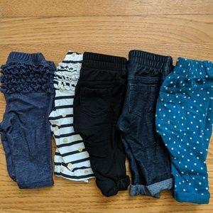 Old Navy 0-3 month leggings